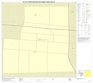 Primary view of object titled 'P.L. 94-171 County Block Map (2010 Census): Dallas County, Inset O01'.