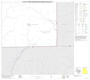 Primary view of object titled 'P.L. 94-171 County Block Map (2010 Census): Real County, Block 38'.