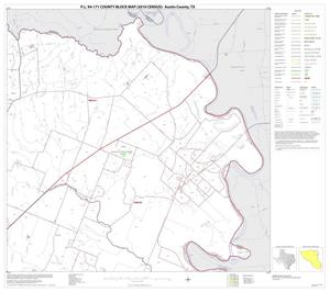 Primary view of object titled 'P.L. 94-171 County Block Map (2010 Census): Austin County, Block 6'.