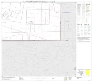 Primary view of object titled 'P.L. 94-171 County Block Map (2010 Census): Duval County, Block 23'.