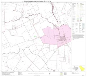 Primary view of object titled 'P.L. 94-171 County Block Map (2010 Census): Bee County, Block 14'.