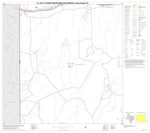 Primary view of object titled 'P.L. 94-171 County Block Map (2010 Census): Llano County, Block 11'.