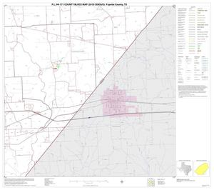 Primary view of object titled 'P.L. 94-171 County Block Map (2010 Census): Fayette County, Block 17'.