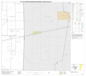 Primary view of object titled 'P.L. 94-171 County Block Map (2010 Census): Jim Wells County, Block 10'.