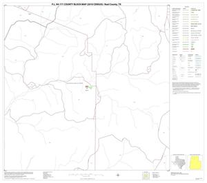 Primary view of object titled 'P.L. 94-171 County Block Map (2010 Census): Real County, Block 6'.