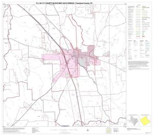 Primary view of object titled 'P.L. 94-171 County Block Map (2010 Census): Freestone County, Block 9'.