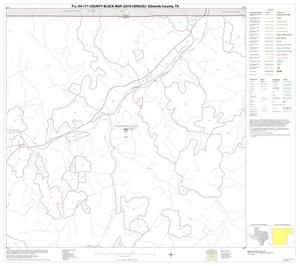 Primary view of object titled 'P.L. 94-171 County Block Map (2010 Census): Edwards County, Block 6'.