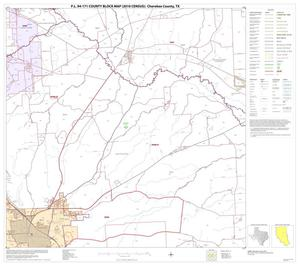Primary view of object titled 'P.L. 94-171 County Block Map (2010 Census): Cherokee County, Block 11'.