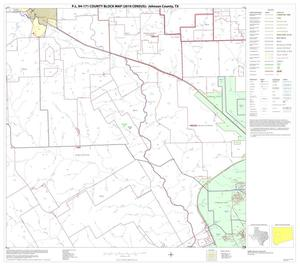 Primary view of object titled 'P.L. 94-171 County Block Map (2010 Census): Johnson County, Block 7'.