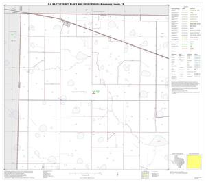 Primary view of object titled 'P.L. 94-171 County Block Map (2010 Census): Armstrong County, Block 1'.