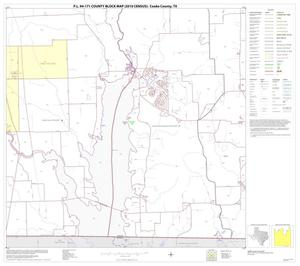Primary view of object titled 'P.L. 94-171 County Block Map (2010 Census): Cooke County, Block 26'.