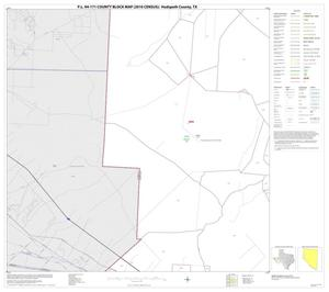 Primary view of object titled 'P.L. 94-171 County Block Map (2010 Census): Hudspeth County, Block 11'.