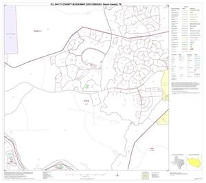 Primary view of object titled 'P.L. 94-171 County Block Map (2010 Census): Harris County, Block 120'.