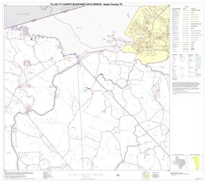 Primary view of object titled 'P.L. 94-171 County Block Map (2010 Census): Jasper County, Block 5'.