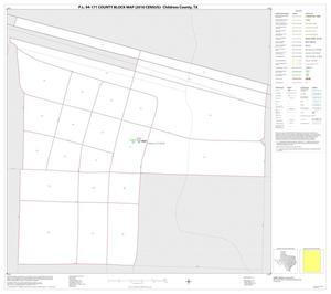 Primary view of object titled 'P.L. 94-171 County Block Map (2010 Census): Childress County, Inset C01'.