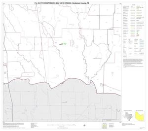 Primary view of object titled 'P.L. 94-171 County Block Map (2010 Census): Hardeman County, Block 14'.