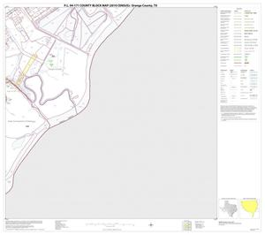 Primary view of object titled 'P.L. 94-171 County Block Map (2010 Census): Orange County, Block 23'.