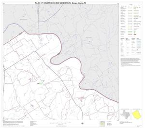 Primary view of object titled 'P.L. 94-171 County Block Map (2010 Census): Bosque County, Block 3'.
