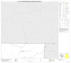 Primary view of object titled 'P.L. 94-171 County Block Map (2010 Census): Real County, Block 14'.