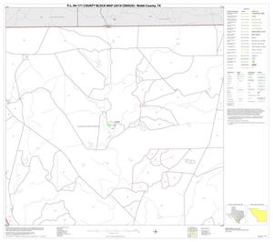 Primary view of object titled 'P.L. 94-171 County Block Map (2010 Census): Webb County, Block 3'.
