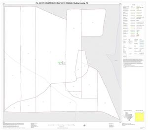 Primary view of object titled 'P.L. 94-171 County Block Map (2010 Census): Medina County, Inset A01'.