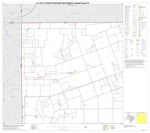 Primary view of object titled 'P.L. 94-171 County Block Map (2010 Census): Haskell County, Block 1'.