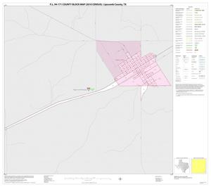 Primary view of object titled 'P.L. 94-171 County Block Map (2010 Census): Lipscomb County, Inset E01'.