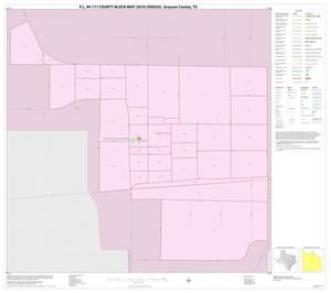 Primary view of object titled 'P.L. 94-171 County Block Map (2010 Census): Grayson County, Inset D01'.