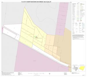 Primary view of object titled 'P.L. 94-171 County Block Map (2010 Census): Starr County, Inset H01'.