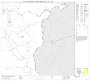 Primary view of object titled 'P.L. 94-171 County Block Map (2010 Census): Leon County, Block 16'.