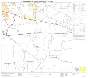 Primary view of object titled 'P.L. 94-171 County Block Map (2010 Census): Harrison County, Block 14'.