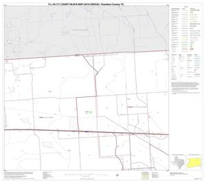 Primary view of object titled 'P.L. 94-171 County Block Map (2010 Census): Chambers County, Block 4'.