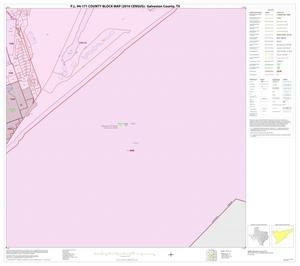Primary view of object titled 'P.L. 94-171 County Block Map (2010 Census): Galveston County, Block 44'.