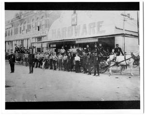 Primary view of object titled '[Fire Department Parade]'.