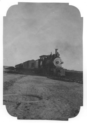 Primary view of object titled '[The First Train to Spur, Texas]'.