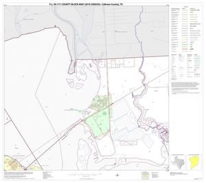 Primary view of object titled 'P.L. 94-171 County Block Map (2010 Census): Calhoun County, Block 3'.