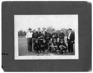 Primary view of object titled '[Poly High School Baseball Team]'.