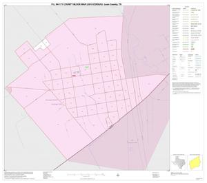Primary view of object titled 'P.L. 94-171 County Block Map (2010 Census): Leon County, Inset H01'.