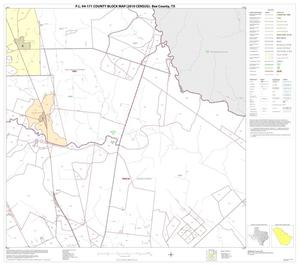 Primary view of object titled 'P.L. 94-171 County Block Map (2010 Census): Bee County, Block 6'.