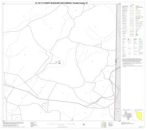 Primary view of object titled 'P.L. 94-171 County Block Map (2010 Census): Presidio County, Block 24'.