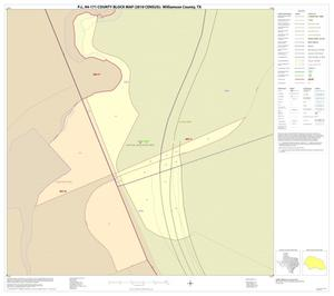 Primary view of object titled 'P.L. 94-171 County Block Map (2010 Census): Williamson County, Inset T01'.