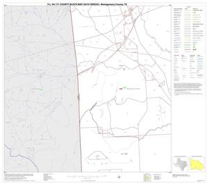 Primary view of object titled 'P.L. 94-171 County Block Map (2010 Census): Montgomery County, Block 18'.