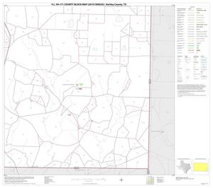Primary view of object titled 'P.L. 94-171 County Block Map (2010 Census): Hartley County, Block 15'.
