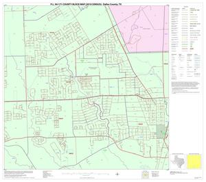 Primary view of object titled 'P.L. 94-171 County Block Map (2010 Census): Dallas County, Block 68'.