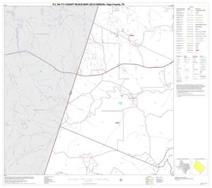 Primary view of object titled 'P.L. 94-171 County Block Map (2010 Census): Hays County, Block 3'.