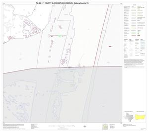 Primary view of object titled 'P.L. 94-171 County Block Map (2010 Census): Kleberg County, Block 17'.