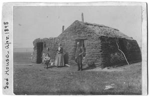 Primary view of object titled '[Sod House]'.