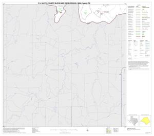Primary view of object titled 'P.L. 94-171 County Block Map (2010 Census): Mills County, Block 9'.