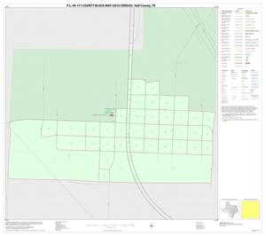 Primary view of object titled 'P.L. 94-171 County Block Map (2010 Census): Hall County, Inset C01'.