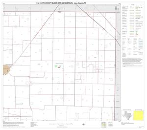 Primary view of object titled 'P.L. 94-171 County Block Map (2010 Census): Lynn County, Block 3'.